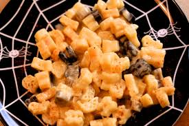 halloween stovetop mac and cheese peanut blossom