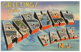 when postcards made every town seem glamorous from asbury park to