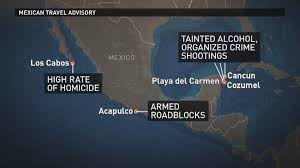 Map Of Mexico Cancun by State Department Issues New Travel Warning For Mexico Over