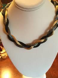 titanium necklace images Titanium mesh necklace jpg