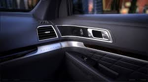 Ford Explorer 2016 - 2016 ford explorer platinum being offered with all ebony black