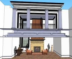 two story fireplace fireplace and hood u2014 deninno architects