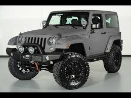 matte grey jeep wrangler 2015 jeep wrangler sport kevlar coated lifted jeep