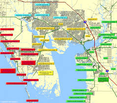 port fl zip code map zip code map