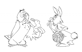 easter drawing ideas winnie pooh coloring pages easter egg