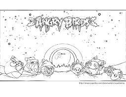 video christmas coloring pages angry birds video coloring page