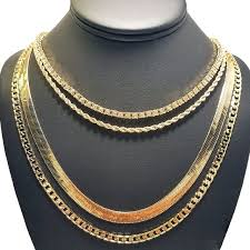 hip hop necklace images Accessories 14k gold plated 4 chain hip hop jpeg
