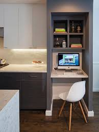 Small Kitchen Desk Kitchen Counter Desk Best 25 Kitchen Desks Ideas On Pinterest