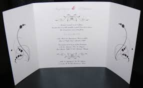 texte de faire part de mariage faire part de mariage arabesque baroque personnalisable la