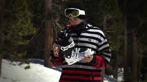 nick martini skier bobby brown with the salomon spk kaos boot youtube