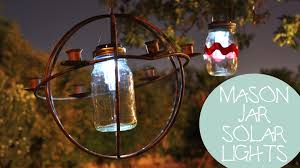 solar lights for craft projects 4th of july decoration ideas mason jar solar lights diy youtube
