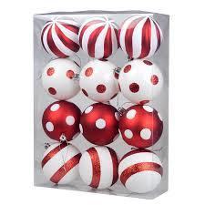amazon com ki store christmas balls ornament shatterproof