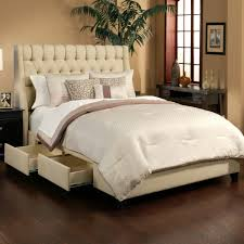Queen Platform Bed With Storage And Headboard Upholstered King Bed Frame With Storage Storage Decoration