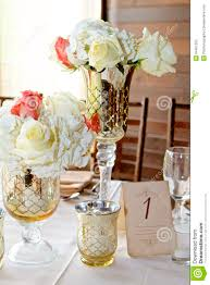 silver centerpieces wedding centerpieces stock image image of elegance centerpieces