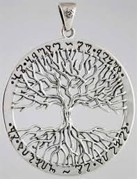 wiccan tree of pendant