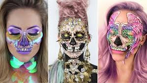 where can i buy halloween makeup this makeup artist u0027s viral skull makeup is blowing up on instagram