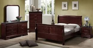 louis philippe bedroom furniture sleigh bed cherry bedroom furniture
