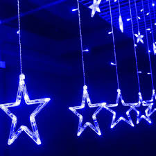 Star String Lights Indoor by 2m 138 Led Star Christmas Party Decor Indoor String Fairy Hanging