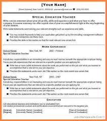 Teacher Job Resume Sample by 7 Cv For Fresher Teacher Job Bussines Proposal 2017