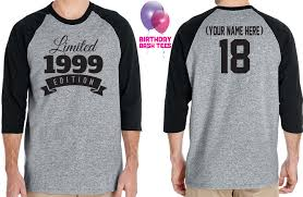 18th birthday gift for men and women gift idea limited edition