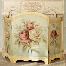 decorative fireplace screen photos