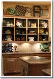 Open Kitchen Shelves Instead Of Cabinets Best 25 Above Cabinets Ideas On Pinterest Above Kitchen