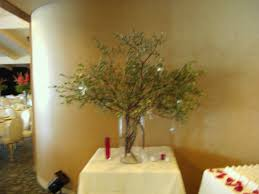 manzanita branches centerpieces manzanita in vase