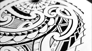 sketching a quarter sleeve maori tribal tattoo youtube