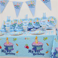 boy 1st birthday 102pcs kids birthday party set 10 girl boy 1st birthday