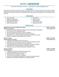 Best Resume Building Sites by Best Apprentice Concrete Form Setter And Finisher Resume Example