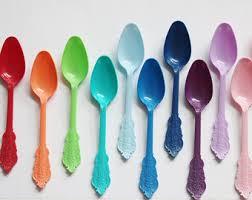 plastic utensils plastic cutlery etsy