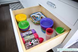 organized kitchen drawers and fridge the sunny side up blog