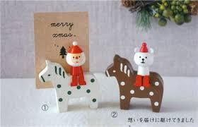 christmas card holder polar on pony christmas card holder japan christmas other