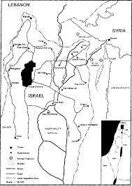 Jordan River Map Hydropolitics Along The Jordan River Scarce Water And Its Impact