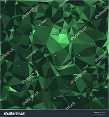 Green Shades by Emerald Stone Background Vector Illustration Abstract Stock Vector