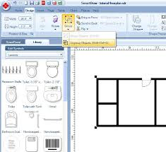 Smartdraw Tutorial Floor Plan Grouping And Ungrouping Items Iu Kokomo Smartdraw Tutorial