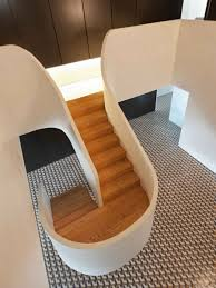 home stairs design this u shaped staircase is the focal point of the home homes and