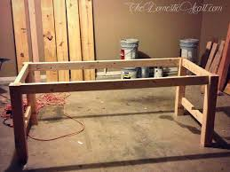 Make A Dining Room Table Exquisite Design Homemade Dining Table Smartness How To Build A