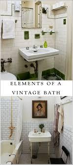 vintage bathroom designs best 25 vintage bathrooms ideas on tiled bathrooms