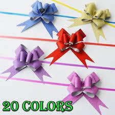 gift bows in bulk bulk 10 100pcs magic ribbon pull bows christmas decor gift wrap