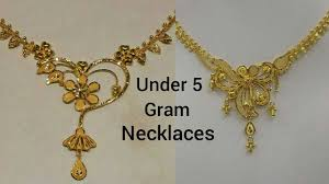 cheap gold necklace images Cheap and affordable gold necklaces designs under 5 gram jpg
