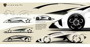 lamborghini car drawing lamborghini diamante concept design sketches car body design