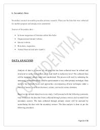 synopsis for mba project customer satisfaction