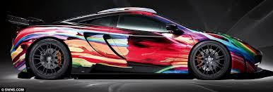 mclaren mp4 12c supercar gets 90 000 psychedelic paint job