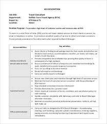 consultant job descriptions 10 free word pdf documents