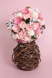 dried flower arrangements pretty in pink dried flower bouquet the maeva store