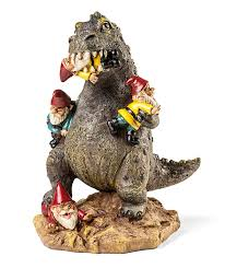 raging kaiju garden gnome thinkgeek