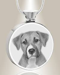 pet urn necklace everlasting memories provides stainless steel photo engraved