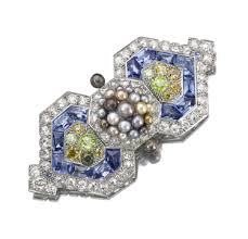 fd gallery cartier an art deco natural pearl sapphire and