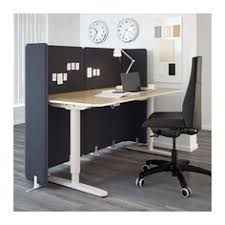 Ikea Office Furniture Bekant Desk Sit Stand Ikea You Can Adjust The Height Of The Table